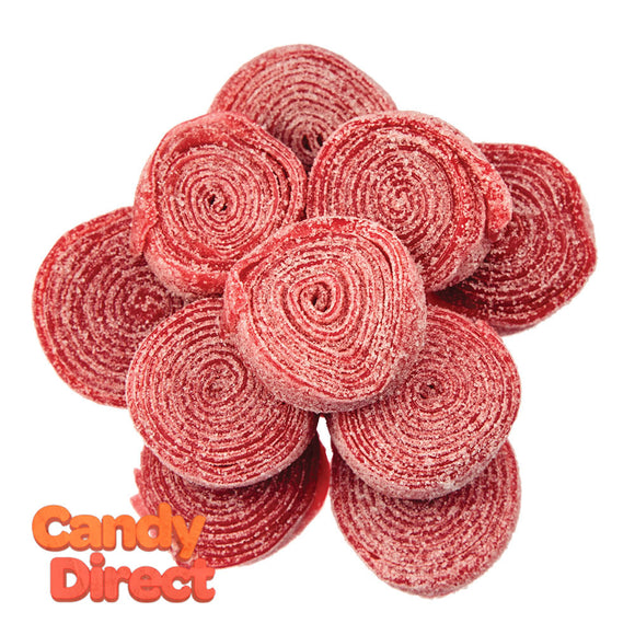 Clever Candy Strawberry Sour Rolled Belts - 6.6lbs