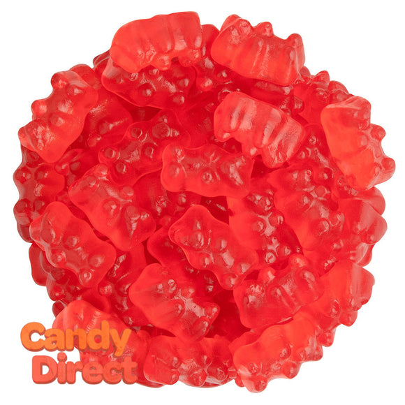 Clever Candy Wild Cherry Flavored Gummy Bears - 6.6lbs