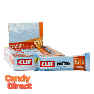 Clif Bars Peanut Butter Chocolate Whey Protein 1.98oz - 8ct