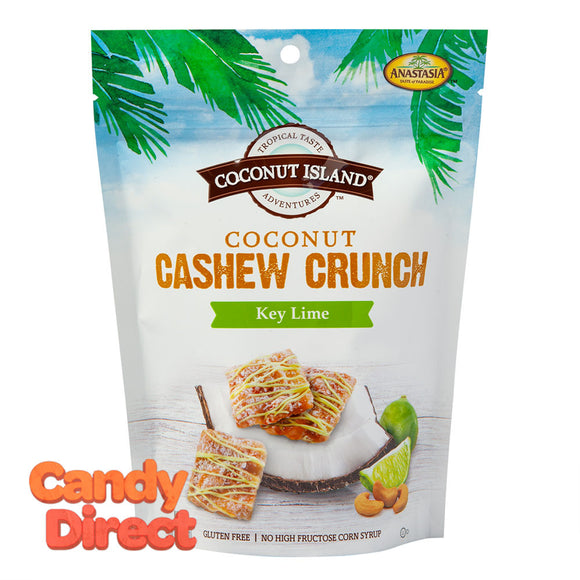 Coconut Cashew Crunch Anastasia Key Lime 5oz Pouch - 6ct