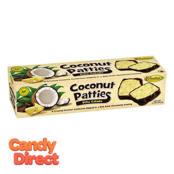 Coconut Patties Anastasia Pina Colada 12 0Z - 12ct