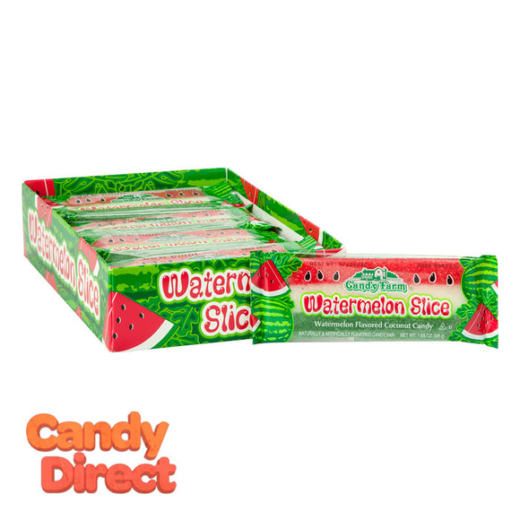 Coconut Watermelon Slice 1.65oz Bar - 24ct