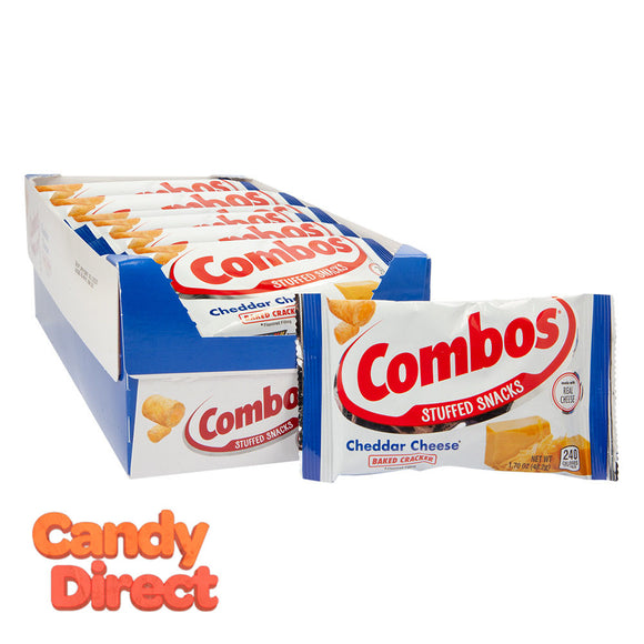 Combos Cracker Cheese1.7oz Bag - 18ct