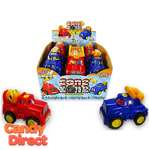 Cone Zone Candy Trucks - 12ct