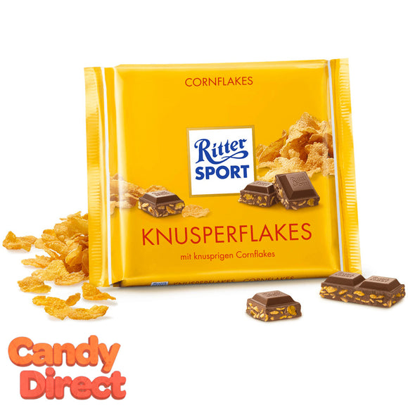 Cornflakes Ritter Sport Milk Chocolate - 10ct