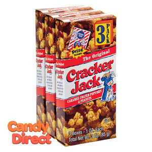 Cracker Original Triples Jack 3oz Box - 24ct