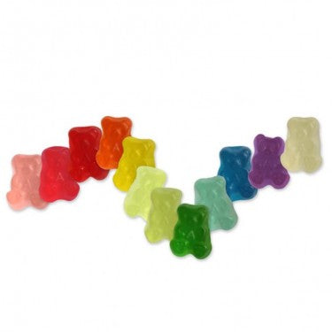 12-Flavor Gummi Mini Bear Cubs - 5lb