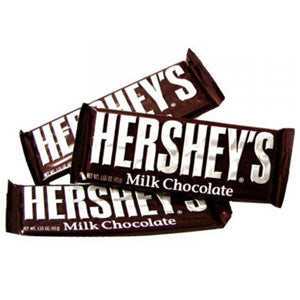Milk Chocolate Hershey's Bars - 36ct