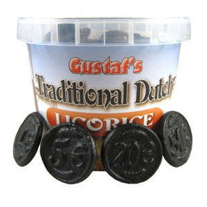 Licorice Coins - 7oz Tubs 6ct
