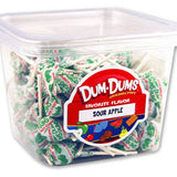 Dum Dum Pops - Sour Apple 1lb Tub