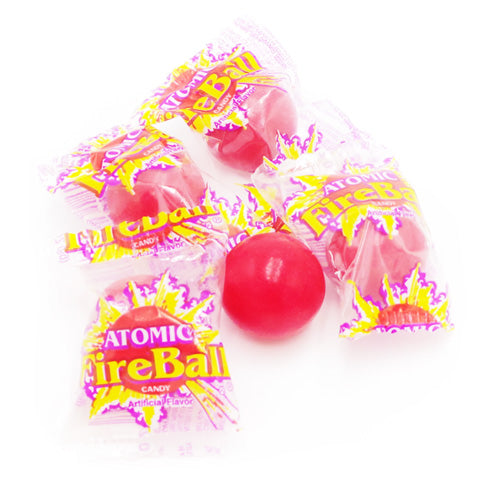 atomic fireballs wrapped in bulk