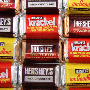 Hershey's Miniatures Candy Bars Mix - 5lb