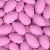 Pale Pink Jordan Almonds - Candy Coated 5lb