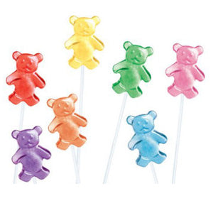 Teddy Bear Twinkle Pops - 120ct