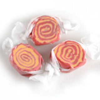 Raspberry Peach Taffy - 3lb Bulk