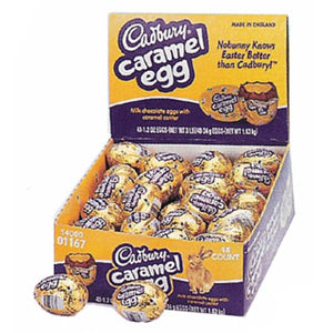 Cadbury Creme Eggs Caramel - 48ct