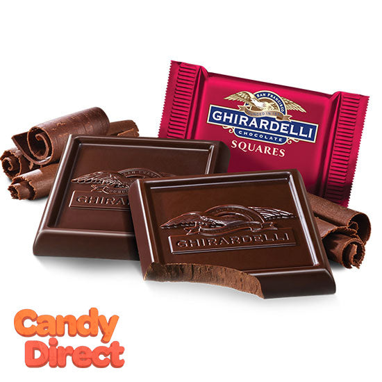 Dark Chocolate 60% Ghirardelli Squares - 540ct
