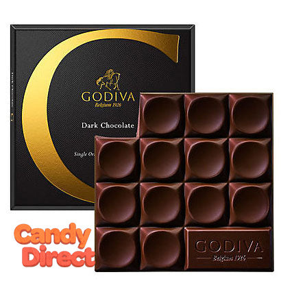 Dark Chocolate G by Godiva Bars - 20ct