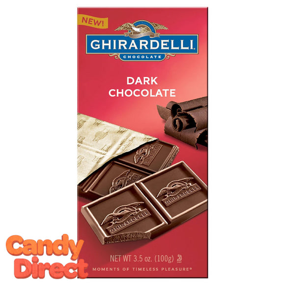 Dark Chocolate Ghirardelli Bars - 12ct