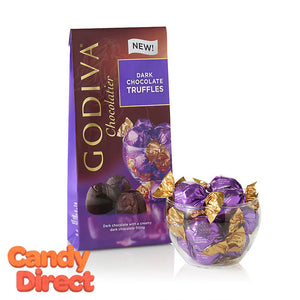 Dark Chocolate Godiva Truffles Bags - 6ct