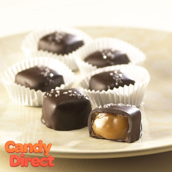 Sea Salt Vanilla Caramels Dark Chocolate - 10lb