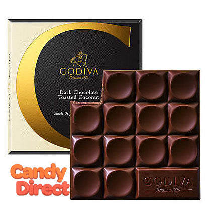 Dark Chocolate Toasted Coconut G by Godiva Bars - 20ct