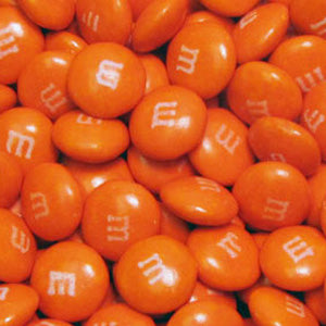 Orange M&M's - Milk Chocolate 10lb