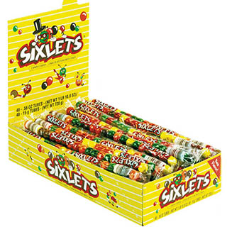 Sixlets Tubes - 48ct Display Box
