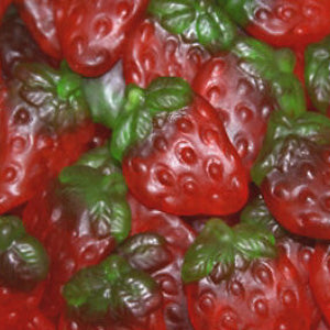 Haribo Strawberries - 5lb