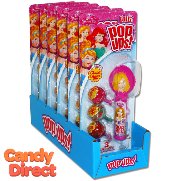 Disney Princess Lolli Pop-Ups Toys - 6ct