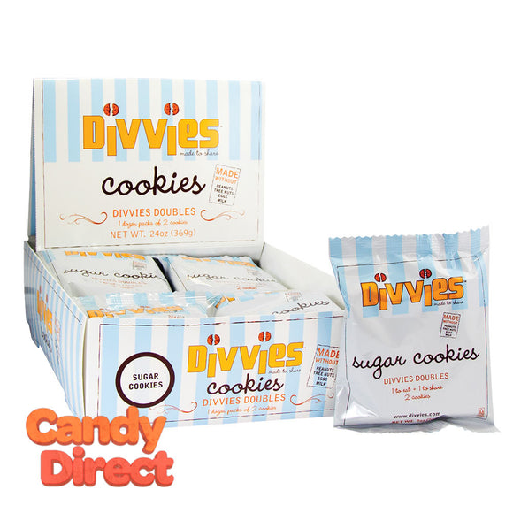 Divvies Cookies Sugar 2oz - 9ct