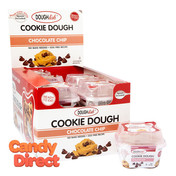 Doughlish Chocolate Chip Cookie Dough 4.5oz - 12ct