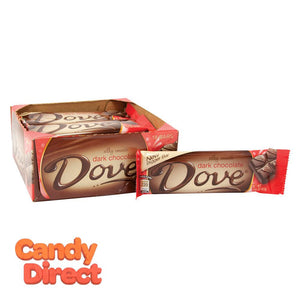 Dove Bars - Dark Chocolate 18ct