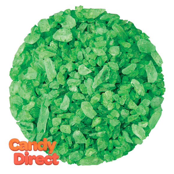 Dryden And Palmer Green Lime Rock Candy Crystals - 5lbs