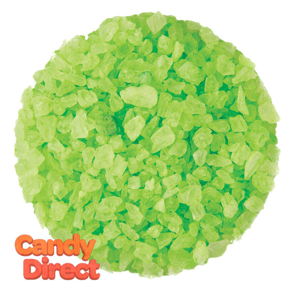 Dryden And Palmer Light Green Watermelon Rock Candy Crystals - 5lbs