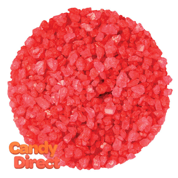 Dryden And Palmer Red Strawberry Rock Candy Crystals - 5lbs