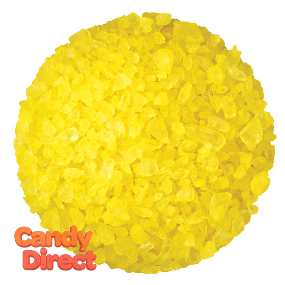 Dryden And Palmer Yellow Lemon Rock Candy Crystals - 5lbs
