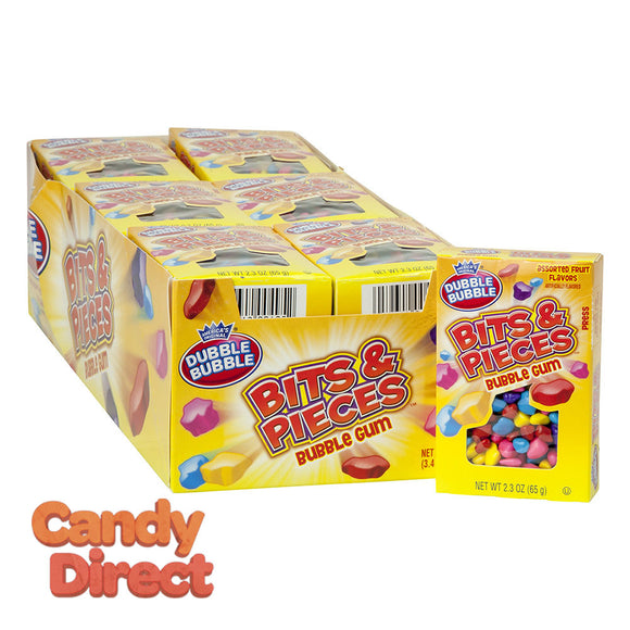 Dubble Bubble Box Bits And Pieces 2.3oz - 24ct