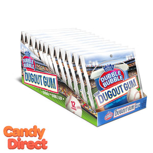 Dugout Gum Dubble Bubble - 12ct