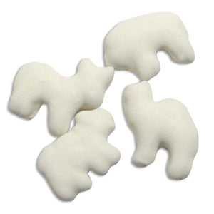 Yogurt Covered Animal Cookies - 10lb