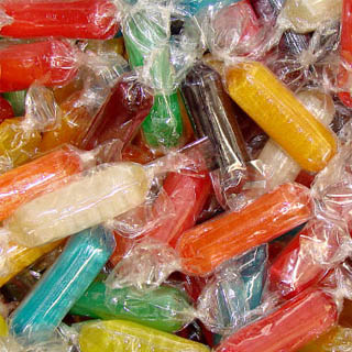 Assorted Rods Hard Candy - 14.5lb
