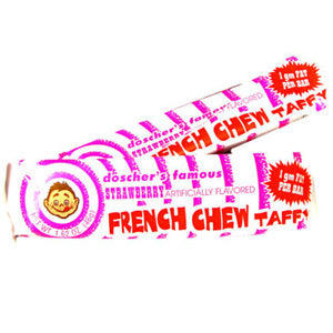 French Chew Taffy Strawberry - 1.62oz 24ct