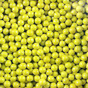 Golden Yellow Sixlets - Bulk 2lb