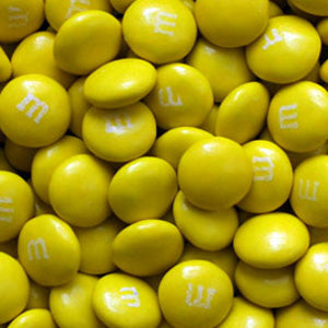Yellow M&M's - Milk Chocolate 10lb
