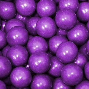 Purple Bubble Gum Balls - 2lb