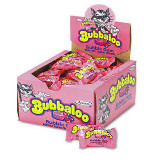 Bubbaloo Bubble Gum - 60ct Box