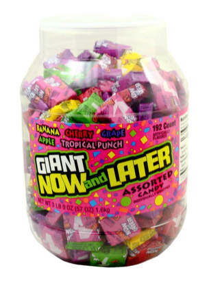Now & Later - Assorted 192ct Tub