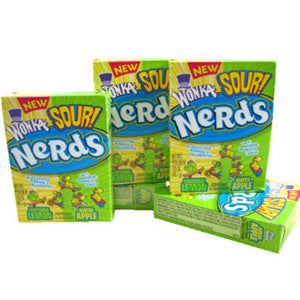 Sour Nerds - Lemon & Apple 24ct