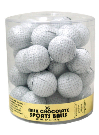 Chocolate Golf Balls - 36ct Tub
