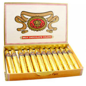 Gold Chocolate Cigars - 24ct